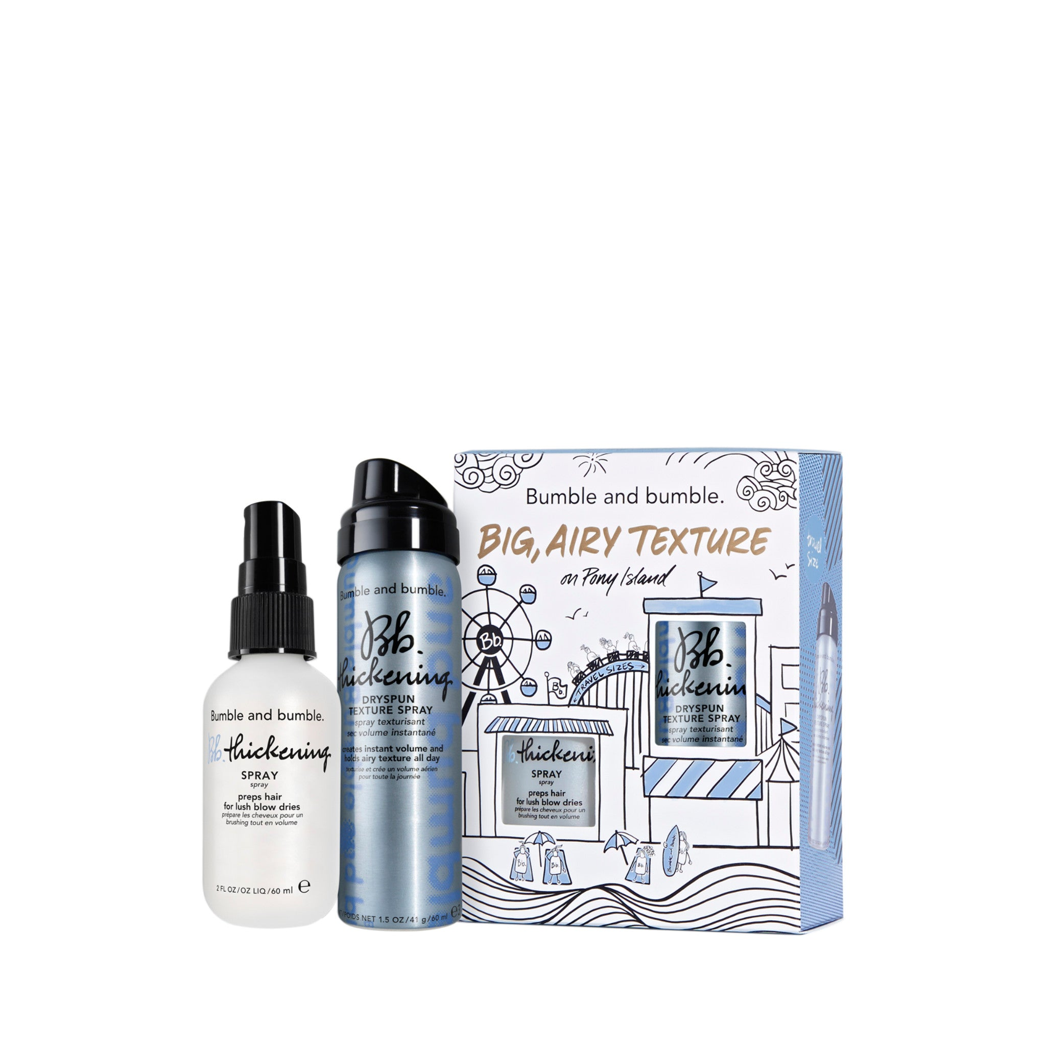 Big, Airy Texture Thickening Set