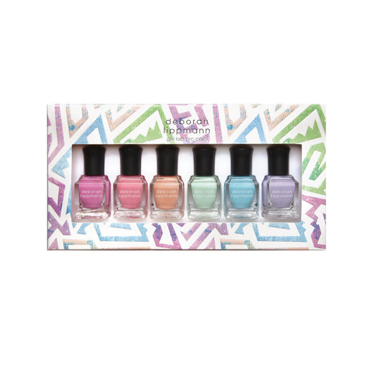 Deborah Lippmann True Colors (Summer 2021 6pc Set)