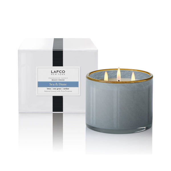 LAFCO Sea and Dune Dune - Beach House 3-Wick Candle