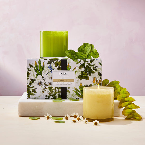 Herbal Classic Candle Duo
