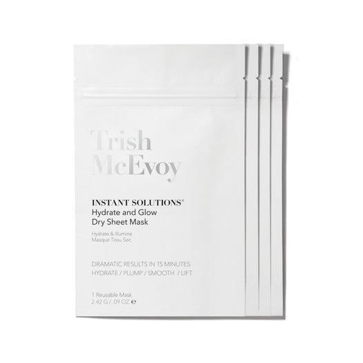 4-Pack Instant Solutions Dry Sheet Mask