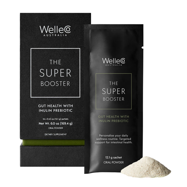 WelleCo SUPER BOOSTER Gut Health with Inulin Prebiotic