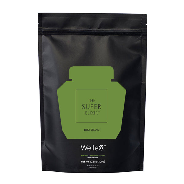 Welleco Super Elixir Greens Pineapple And Lime Refill