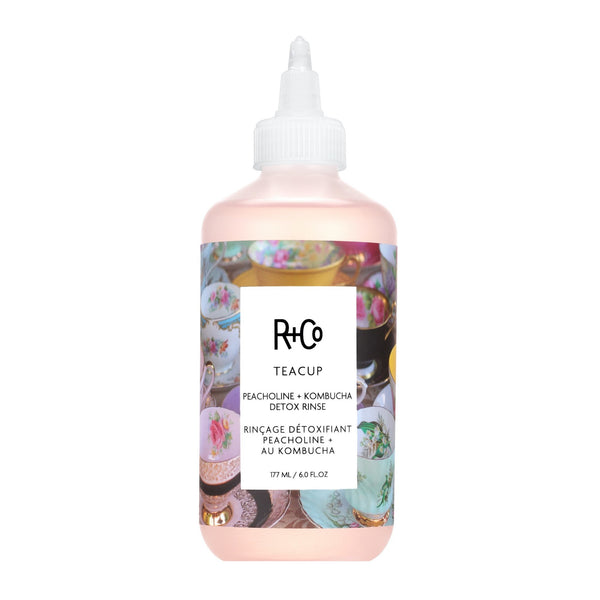R+Co Teacup Peacholine + Kombucha Detox + Protect Rinse