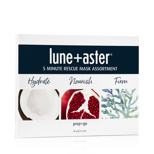 5 Minute Rescue Mask Assortment Trio - Hydrate, Firm and Nourish