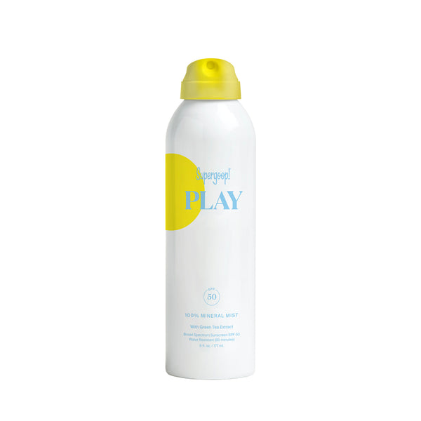 PLAY 100% Mineral Body Mist SPF 50 with Green Tea Extract