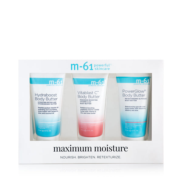 Maximum Moisture Body Butter Set