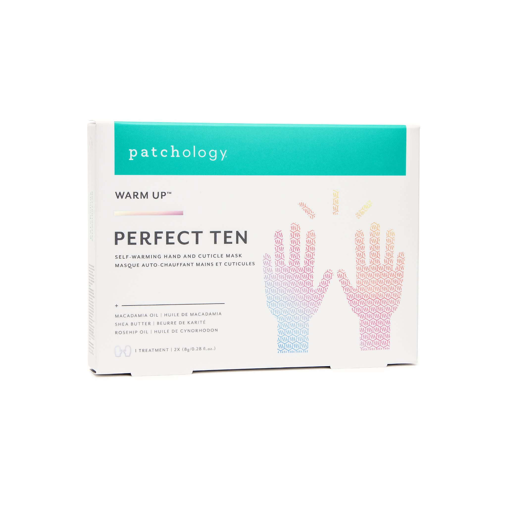 "Warm Up ""Perfect Ten"" Self-Warming Hand & Cuticle Mask"