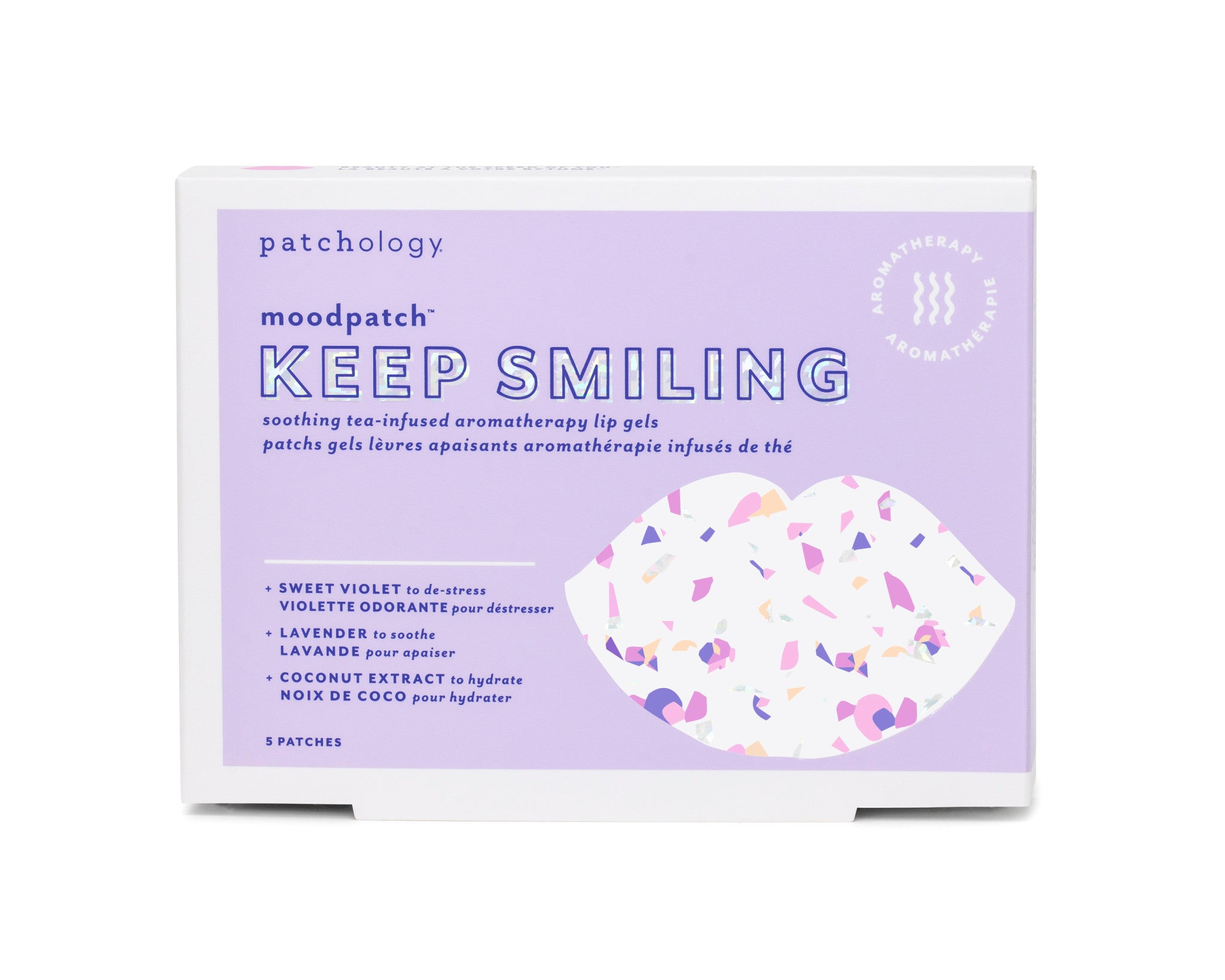 Keep Smiling Moodpatch Soothing Tea-Infused Aromatherapy Lip Gels