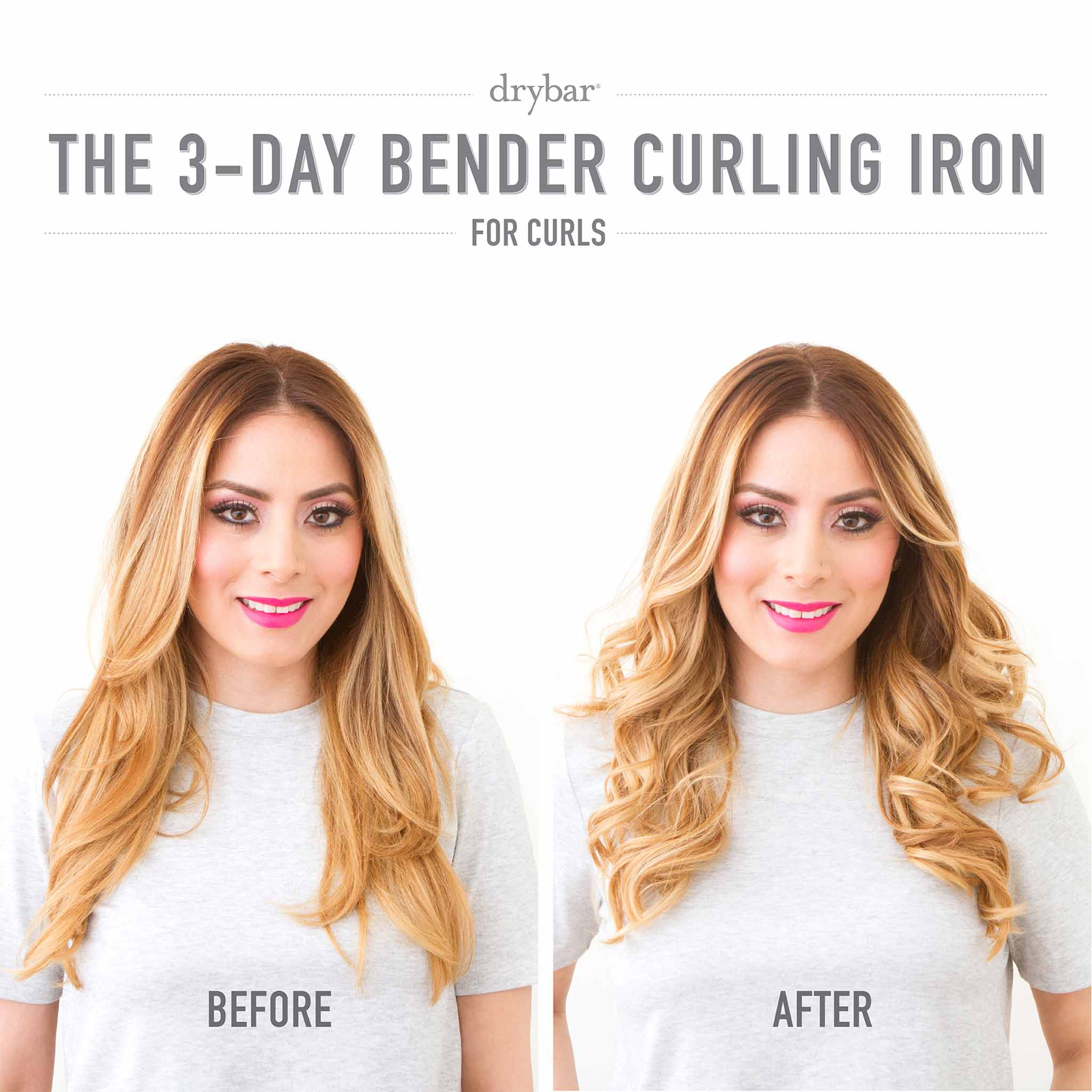 3 Day Bender Digital Curling Iron 1 Inch