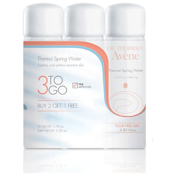 Thermal Spring Water 3-To-Go- Kit
