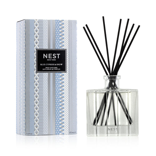 Blue Cypress & Snow Reed Diffuser