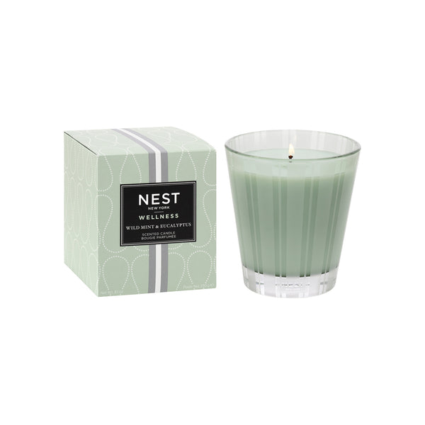 Wild Mint & Eucalyptus Classic Candle