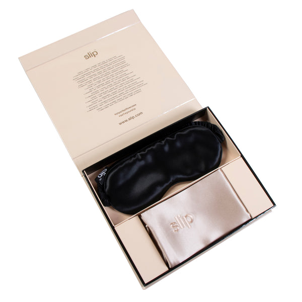 Slip™ Beauty Sleep Collection Gift Set - Caramel/Black