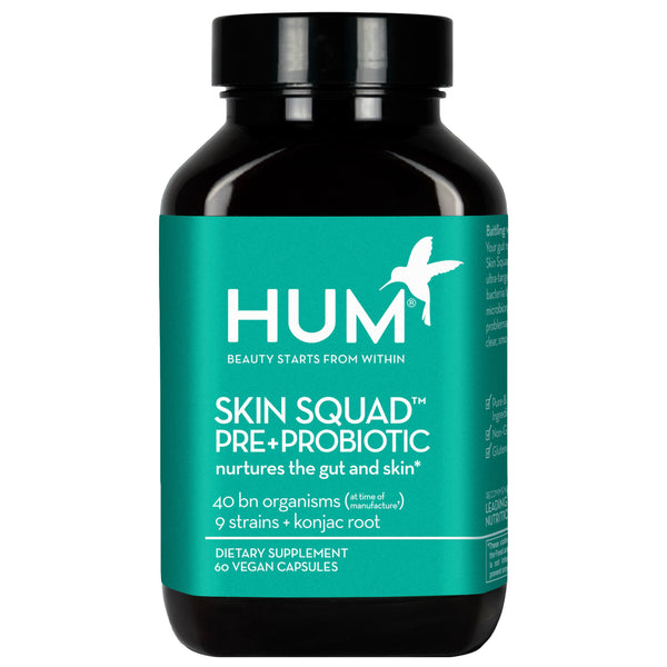 Hum Nutrition Skin Squad™  Pre+Probiotic Clear Skin Supplement