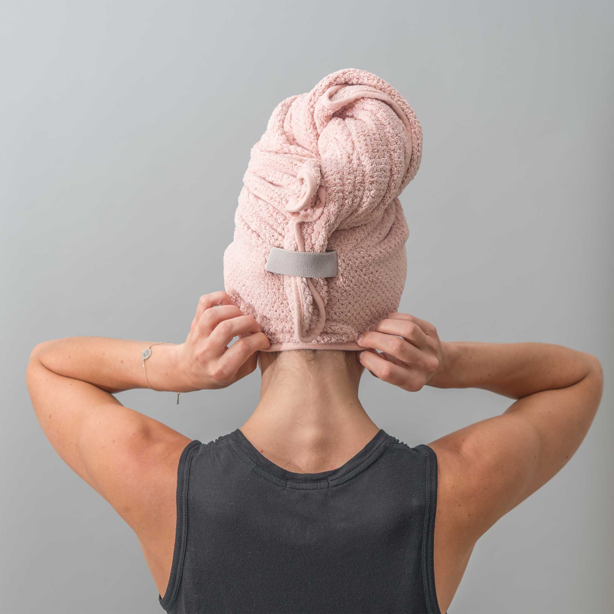 VOLO HERO Hair Towel - Cloud Pink Hero