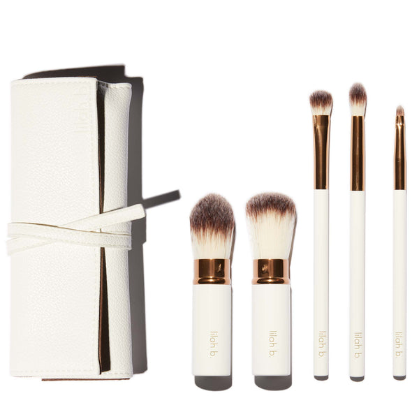 lilah b. Let's Face it Brush Set