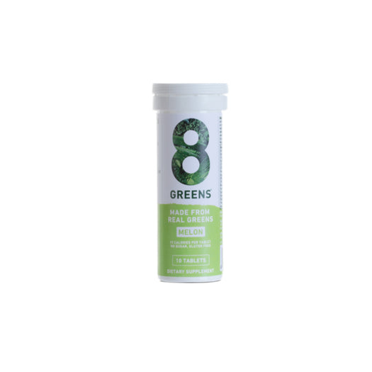 8Greens Effervescent Tablets in Melon