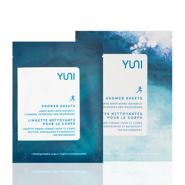 YUNI Shower Sheets - Large Body Wipes