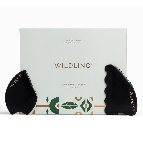 Wildling Facial & Body Gua Sha Stone Duo