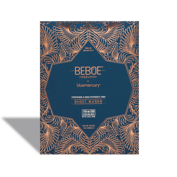 Exclusive Beboe Therapies High Potency CBD Sheet Mask