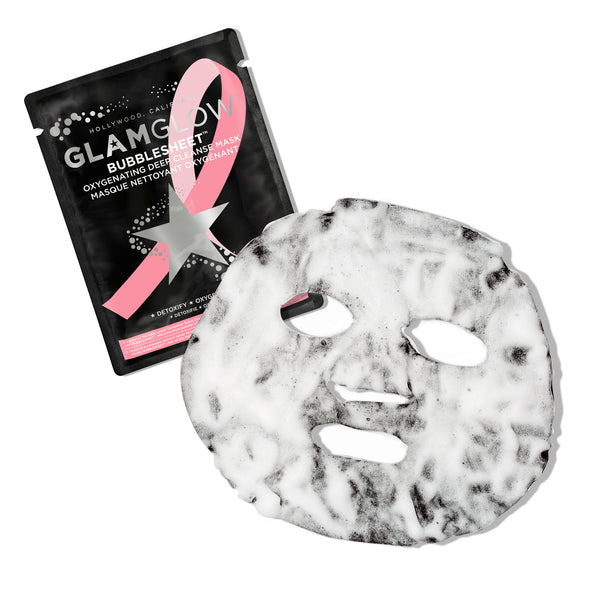 Breast Cancer Awareness - Bubblesheet™ Oxygenating Deep Cleanse Mask