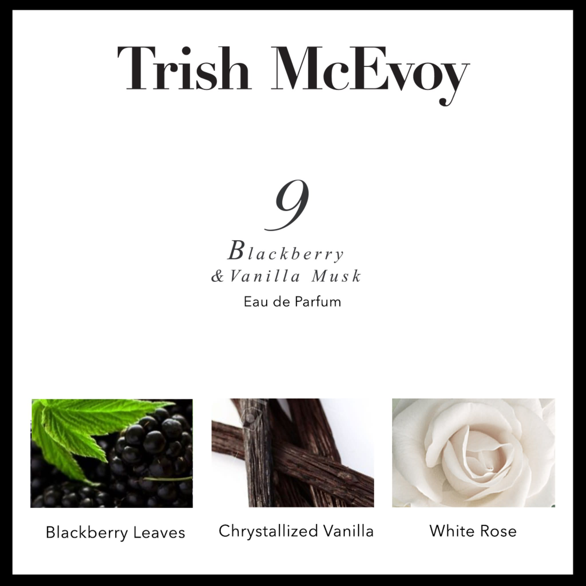 No. 9 Blackberry And Vanilla Musk Eau De Parfum