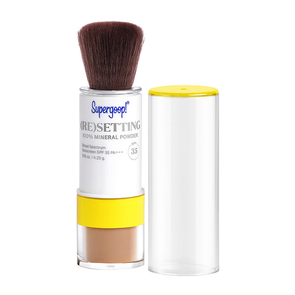(Re)setting 100% Mineral Powder SPF 35
