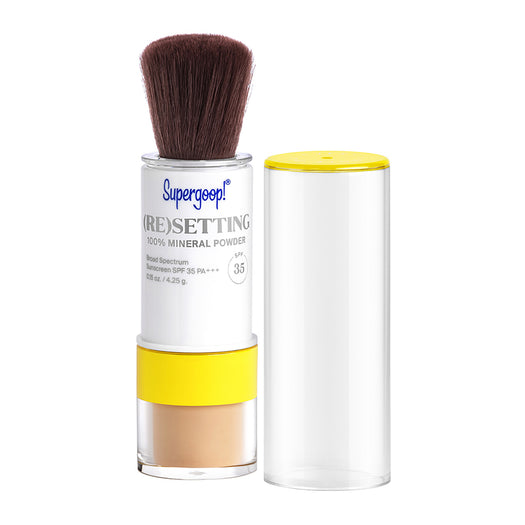 (Re)setting 100% Mineral Powder SPF 35 PA+++
