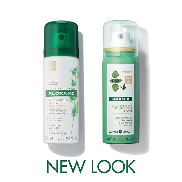 Dry Shampoo with Nettle - Dark Hair