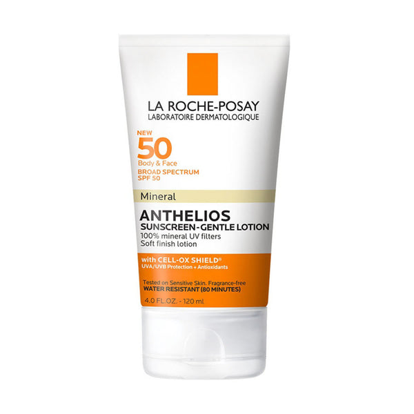 Anthelios Body and Face Mineral Sunscreen Lotion SPF 50