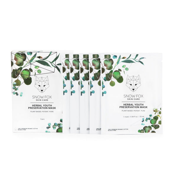 Snow Fox Skincare Herbal  Youth Preservation Mask