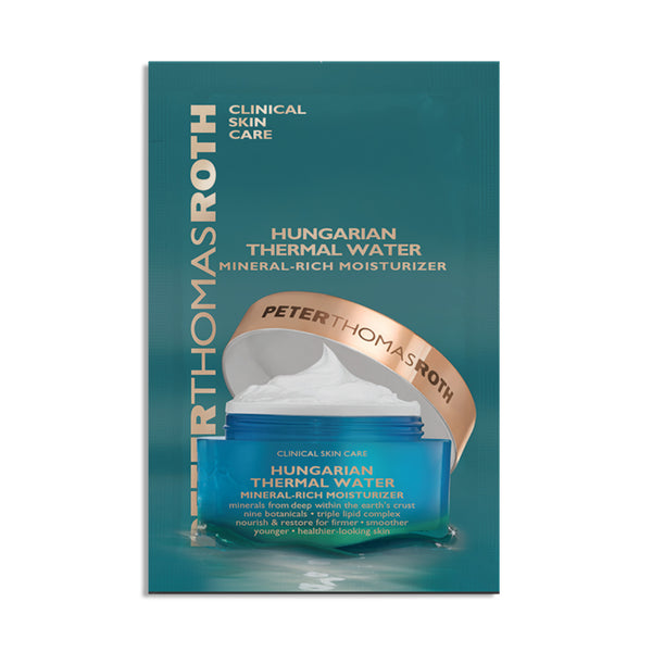 Hungarian Thermal Water Mineral-Rich Moisturizer Sample