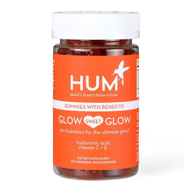 Hum Nutrition Glow Sweet Glow Gummies - Vegan Hyaluronic Acid Supplement For Skin Hydration