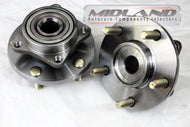Mitsubishi Evo 4 5 6 Pair Of Front Wheel Bearing Hub Kit and Flange Fits 1996 - 2000