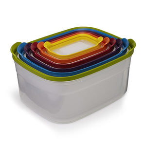 Joseph Joseph 12Pc Storage Container set stacked inside of each other