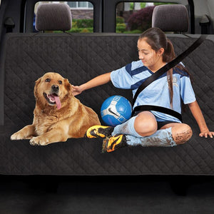 Dual Purpose Cargo / Back Seat Protector