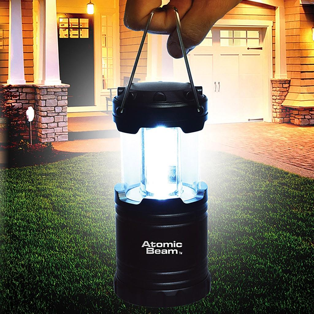 Details about  /Atomic Beam Lantern Original by Bulbhead Collapsible LED Bright 360-Degree