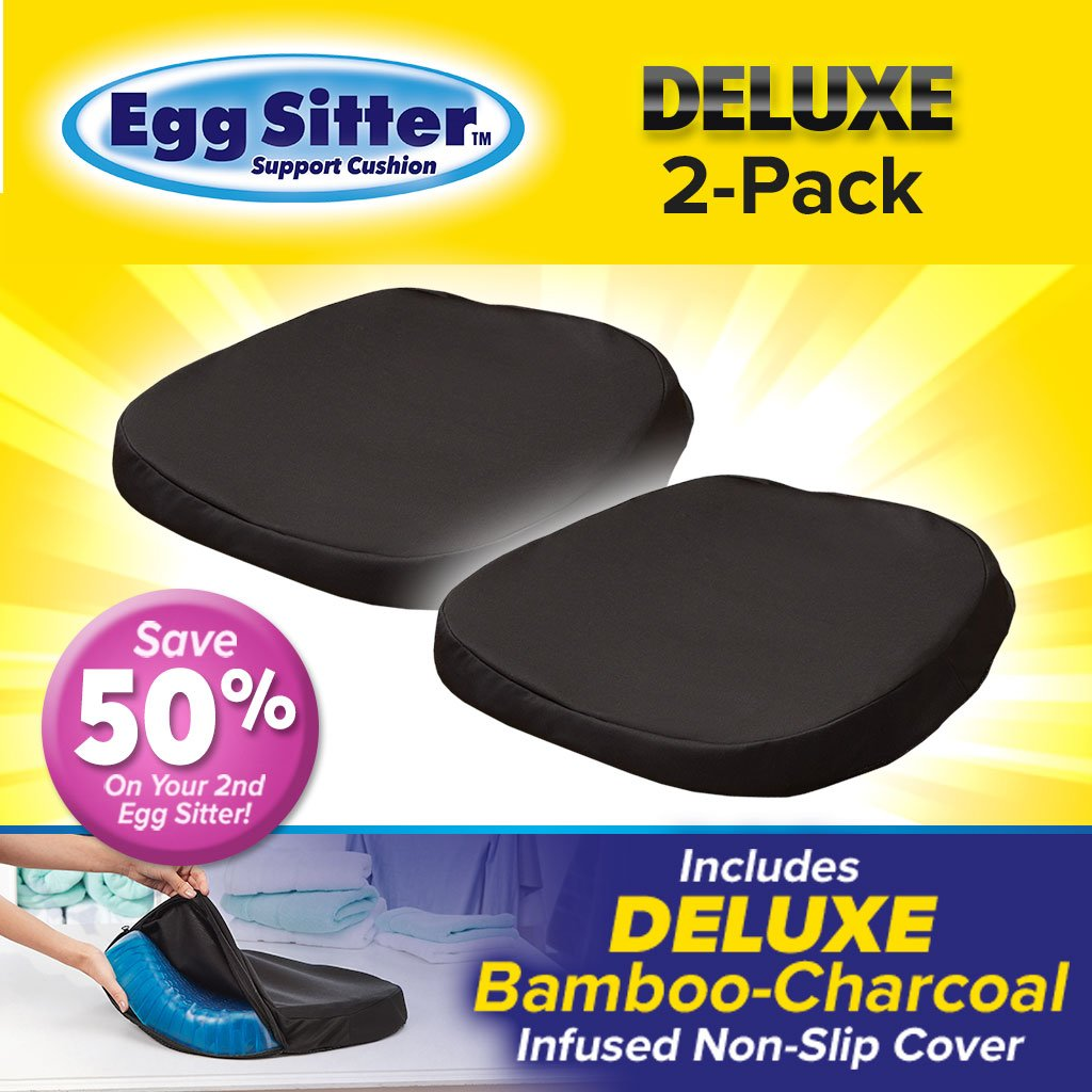 Deluxe Egg Sitter Support Cushion 2-Pack