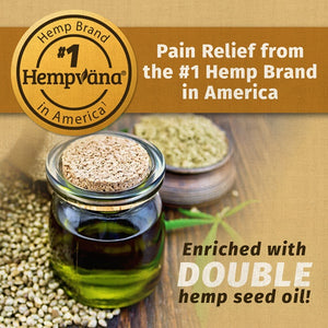 Enriched with Double hemp seed oil