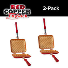 Load image into Gallery viewer, Red Copper Flipwich 2-Pack