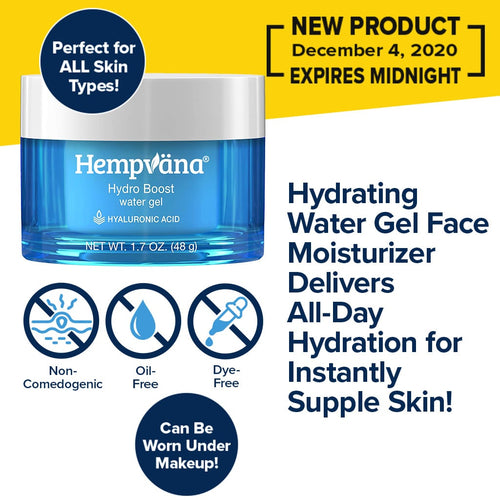 Hydrating Water Gel Face Moisturizer