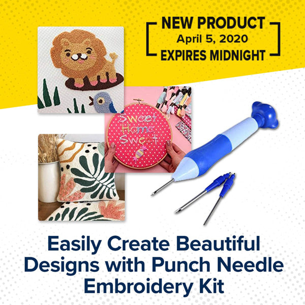 Punch Needle Embroidery Starter Kit
