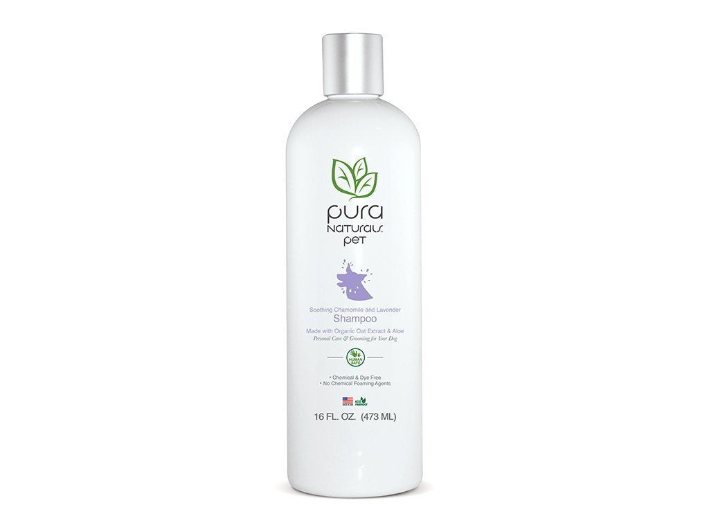 Pura Naturals Pet Soothing Lavender & Chamomile Shampoo image from BulbHead