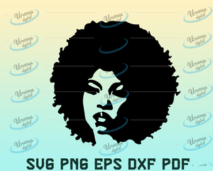 Black Woman svg