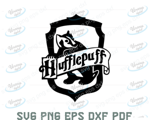 Hufflepuff SVG,SVG Files For Silhouette, Files For Cricut, SVG, DXF, EPS, PNG Instant Download