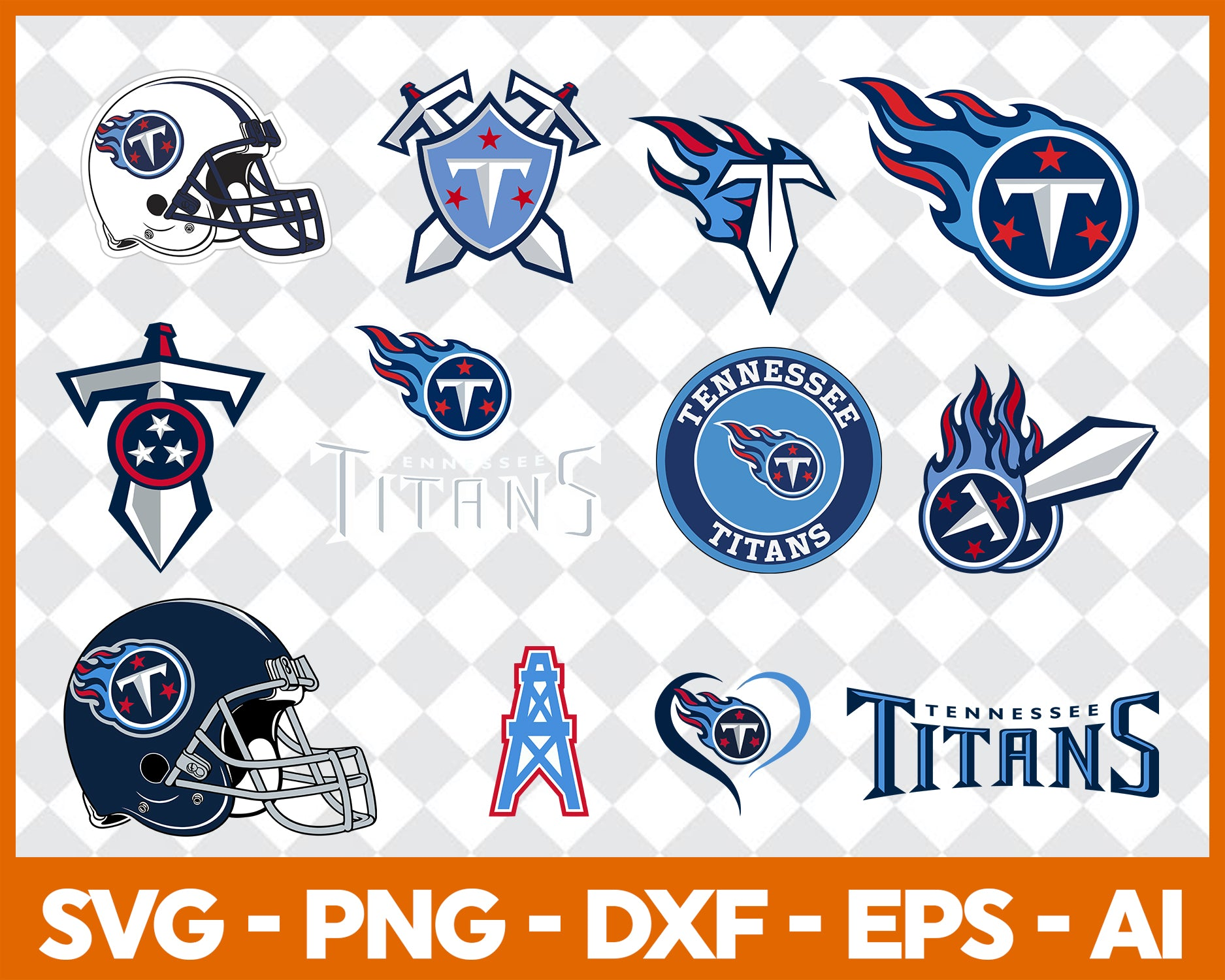 Tennessee Titans SVG,SVG Files For Silhouette, Files For Cricut, SVG, DXF, EPS, PNG Instant Download