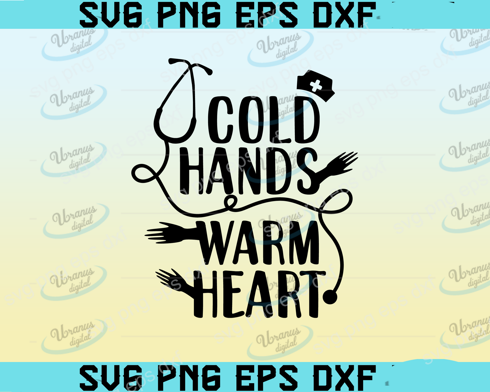 Cold hands warm heart SVG,SVG Files For Silhouette, Files For Cricut, SVG, DXF, EPS, PNG Instant Download