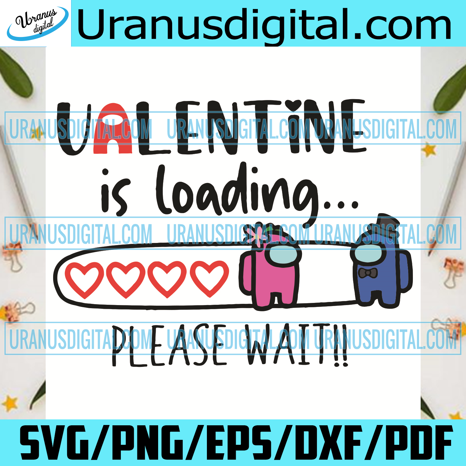 Among Us Valentine Is Loading Please Wait Svg, Valentine Svg, Among Us Svg, Among Us Love Svg, Impostors Svg, Impostors Love Svg, Impostors Couple Svg, Love Svg, Love Gifts Svg, Valentine Gift Svg, Valentine Day Svg,