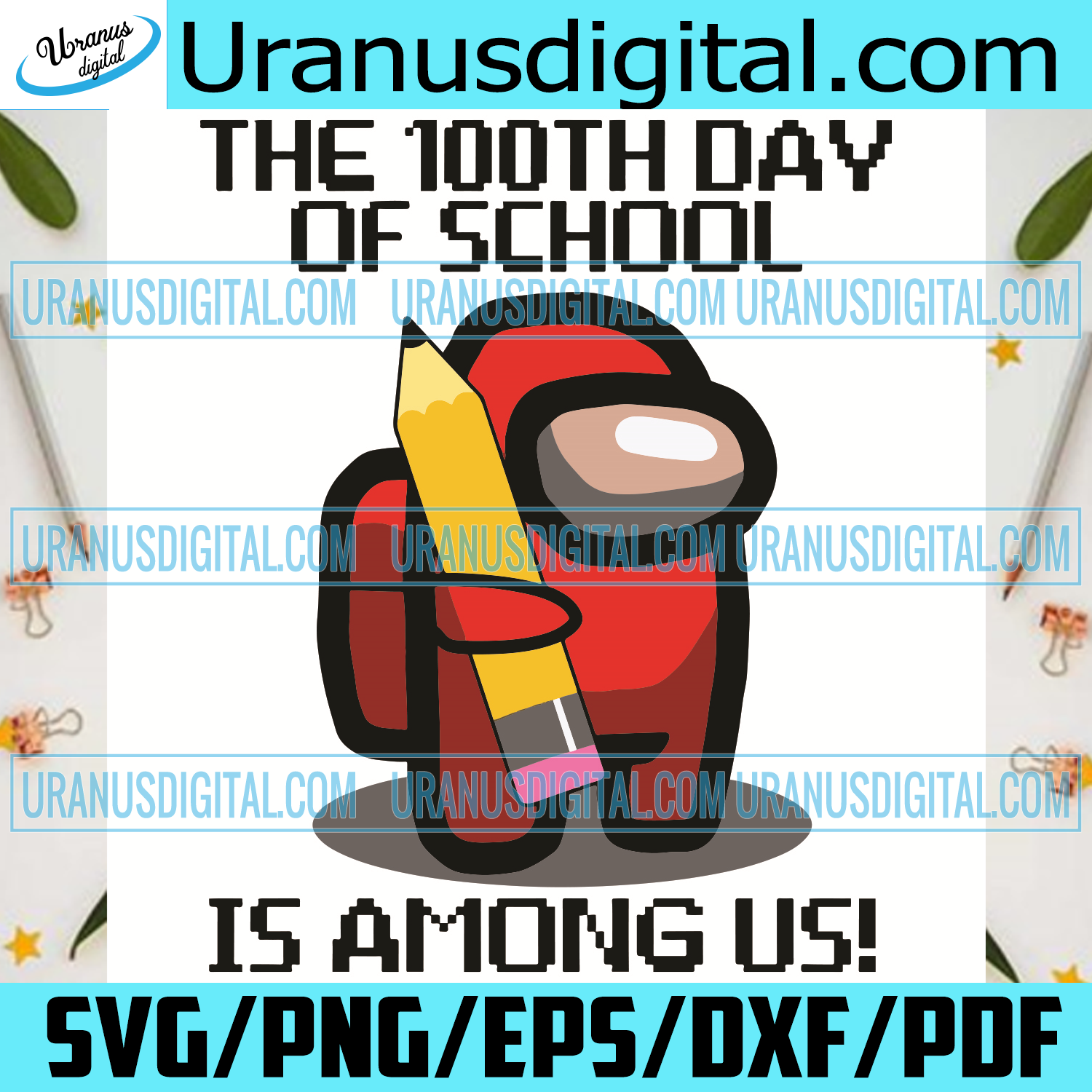 100th Day of School Among Us Svg, Trending Svg, 100 Days Of School Svg, Among Us Svg, Impostors Svg, Crewmate Svg, Game Svg, School Svg, Student Svg, Quarantined Svg, 100th Day Of School Svg, School Gifts Svg